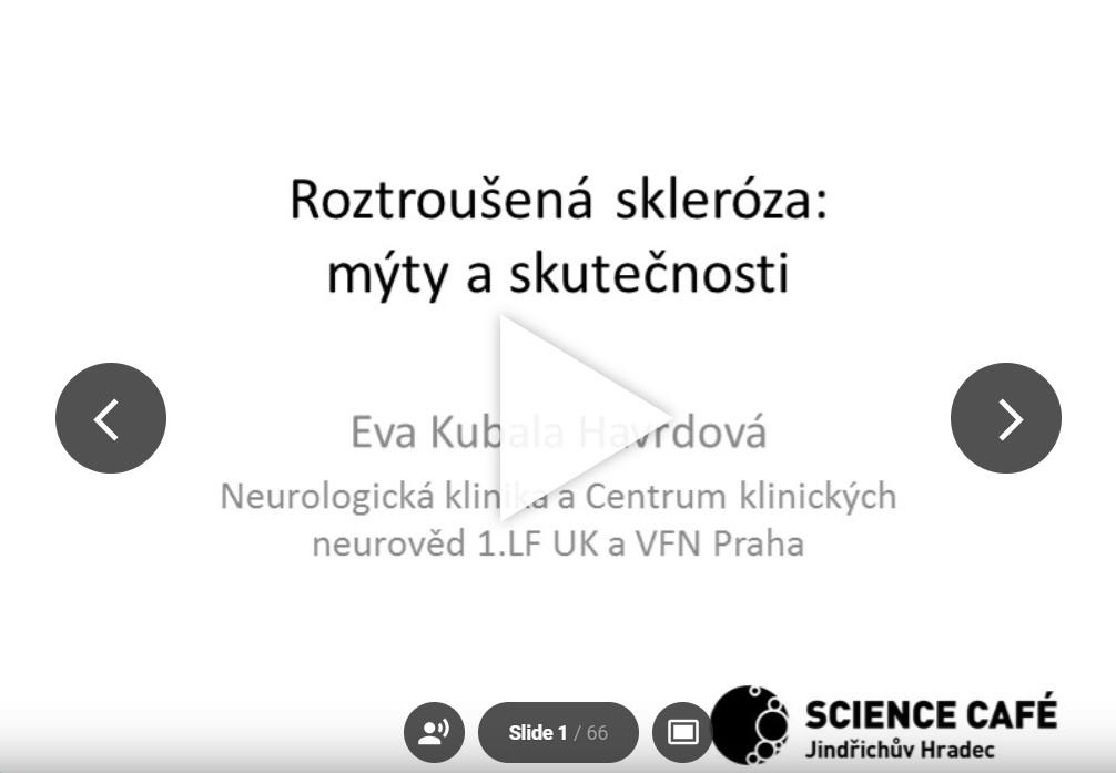 Rozroušená skleróza: mýty a skutečnosti